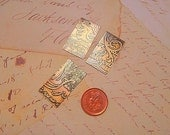 3 Etched Brass Pieces