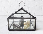 RESERVED for fancyfoxy - Vintage Glass House Specimen Menagerie