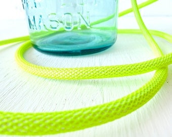 DIY Color Vintage Mason Ball Jar Hanging Pendant Light w/ Color Cord