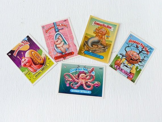 Vintage Garbage Pail Kids Cards... ESW's GPK water collection