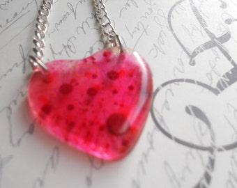 SALE: Bleeding Heart Necklace