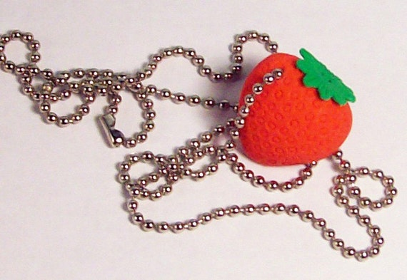 SALE: Sweet Strawberry Necklace