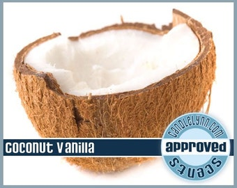 COCONUT VANILLA Fragrance Oil, 2 oz.