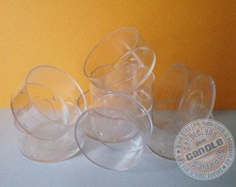 25 Clear Tea Light Cups - DIY
