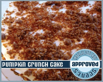 PUMPKIN CRUNCH CAKE Fragrance Oil, 1 oz