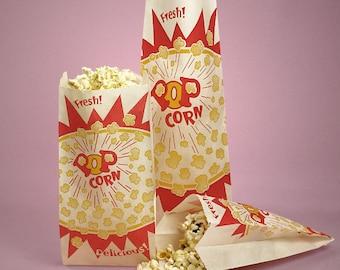 100 Popcorn Bags