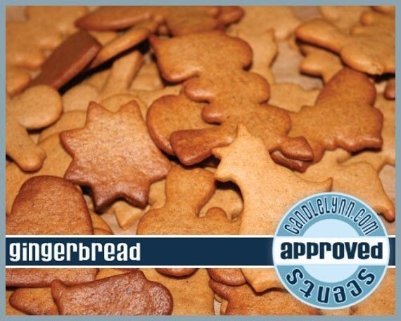 GINGERBREAD Fragrance Oil, 2 oz.