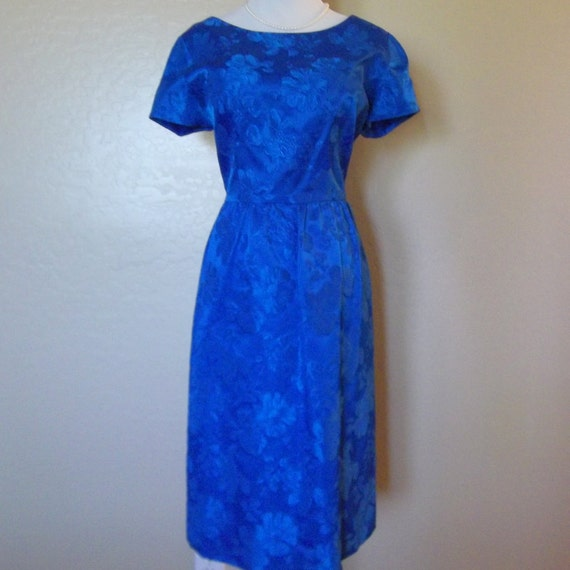 Vintage 1960s Dress with matching jacket  Size L