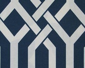 NEW COLOR-Trellis/Lattice Fabric by the Yard-Bermuda
