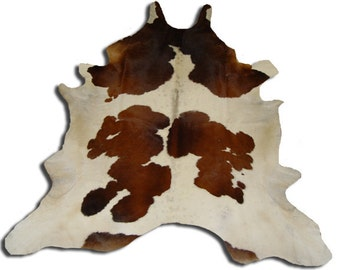 Brown Spotted Cowhide Upholstery (or Rug)
