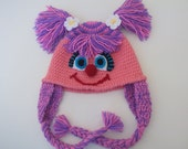 Abby Cadabby(Inspired)  Hat -Crochet Baby  Hat  - for Baby or Toddler-Baby Girl Hat-abby cadabby costume-sesame street characters
