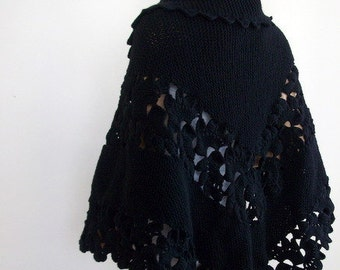 Beautiful Triangle Black Shawl -Black Shawl