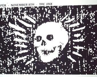 Jucifer gig poster