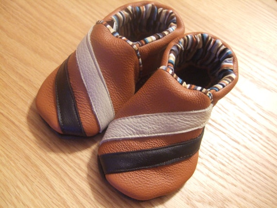 leather boy soft soled shoes 18-24 months