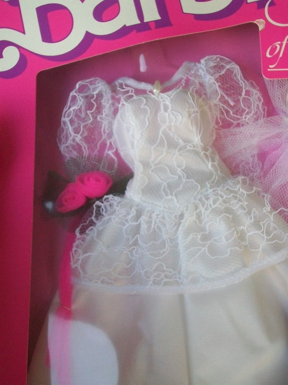 Barbie Wedding Of The Year Dress NIB 1989 Sale