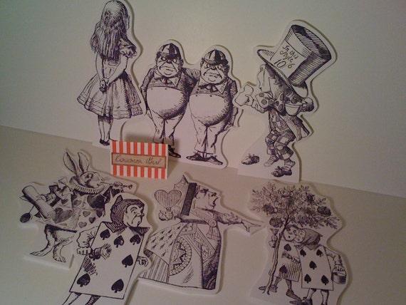 Wonderland Prop Characters