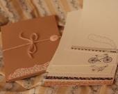 Handmade Traveller Letter Set