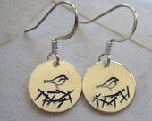 Nesting Bird Earrings