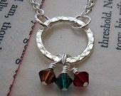 Infinity family necklace