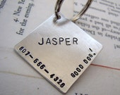Custom Diamond Pet ID Tag - Good Dog