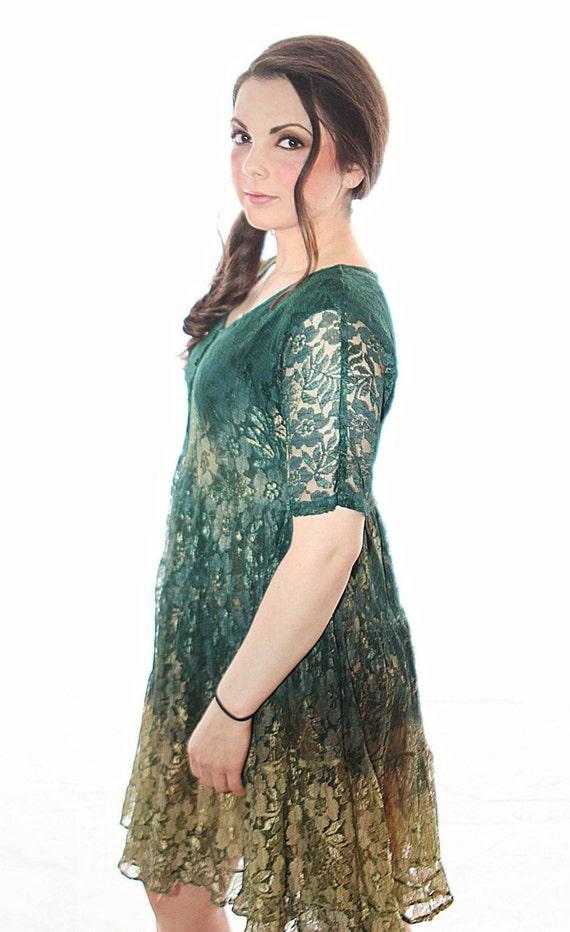 Fallen Amber Dress