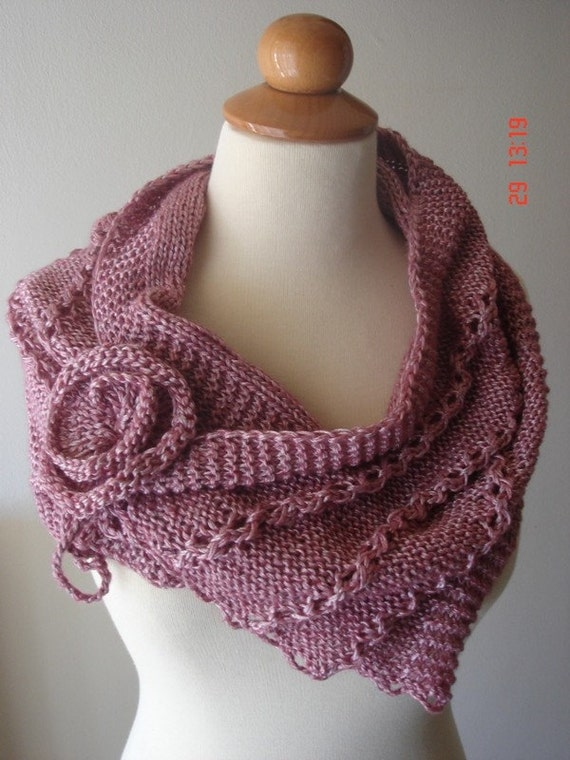 EXTREMELY SOFT AND FEMININE PINK CAPELET