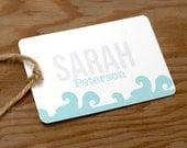 Wanderlust Wedding Place Name Card