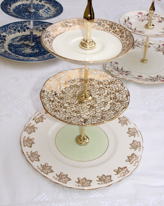 glamorous wedding cake stand glamorous vintage 3 tiered cake stand for afternoon tea and 14712