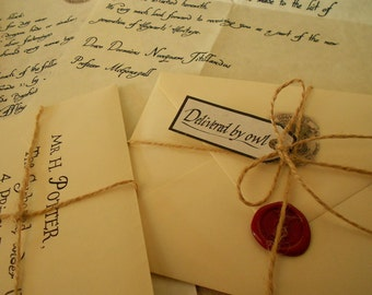 Hogwarts Acceptance Letter and List of Requirements