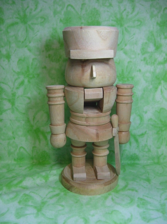 Zims Soldier Nutcracker 12 Inches Tall By Barbsheartstrokes