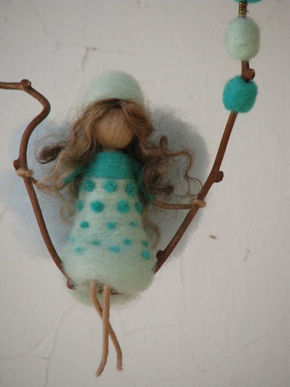Needle felted  fairy