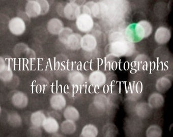 THREE 4x6 Inch Photographic Prints From Abstract Series