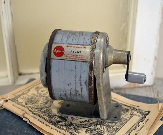 Gray Vintage Apsco Pencil Sharpener