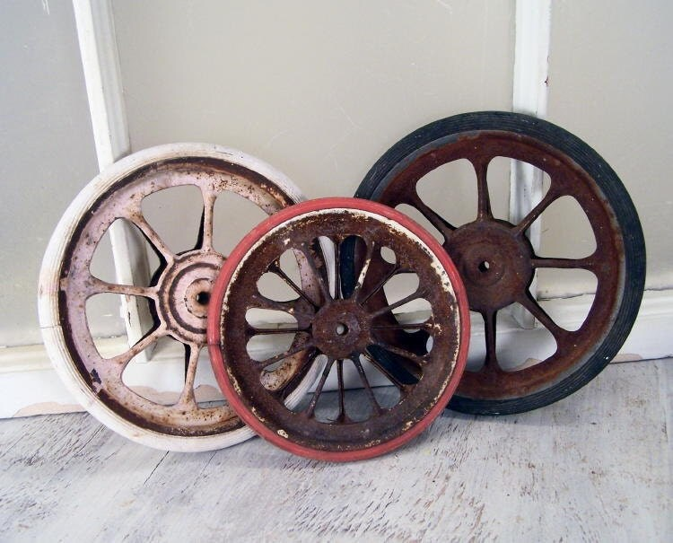 Vintage Baby Doll Carriage Wheels Collection Of By