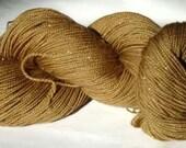 Natural Dyed Superwash Sock Yarn -- Minnesota Walnut