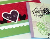 Set of 4 Lovely n Pretty Blank Greeting Cards
