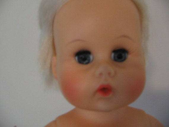 Vintage Teeny Tiny Tears Doll  1960's by American Character a/k/a American Doll and Toy Corp. - Original Clothes, Carrying Case, Accessories