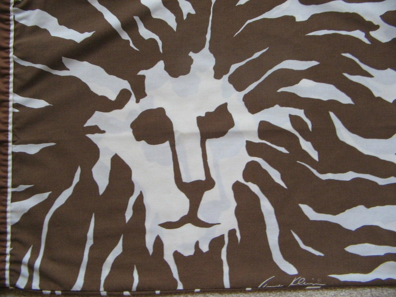 Vintage Anne Klein Lion Pillow Cases 1970 39 S