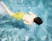 Summer Swim Polaroid -  Fine Art Photography Print