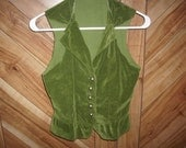 Green vest size small