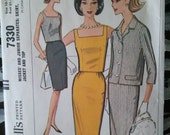 McCall's Vintage Dress Pattern, Two-Piece Outfit 1964