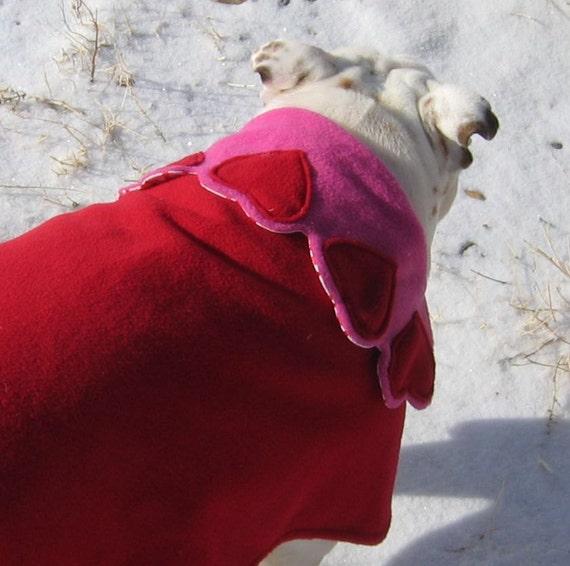 English Bulldog Reversible Coat  Bulldog Custom Pattern