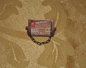 Steampunk Deadly Laudanum brooch