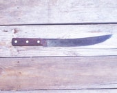 Vintage Knife Large Big Butcher Knife Russell Green River Works Treasury Item