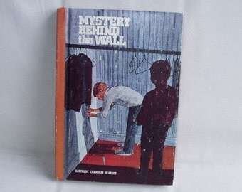 Vintage Childrens Youth Book Mystery Behind The Wall Alden Family Mysteries 70s Edition
