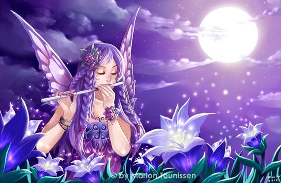 Night Fairy art print