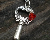 The Red Key to Life Necklace