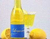 DIY Limoncello Lemon Drop Martini - Crystal's Naturally Infused Simple Syrup Mix for the perfect Lemon Drop Martini