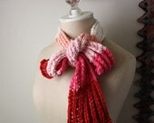 Knitting Pattern / Eco Cotton Lace Scarf / PDF DIGITAL DELIVERY