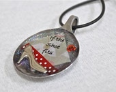 If the Shoe Fits - Spoon Pendant